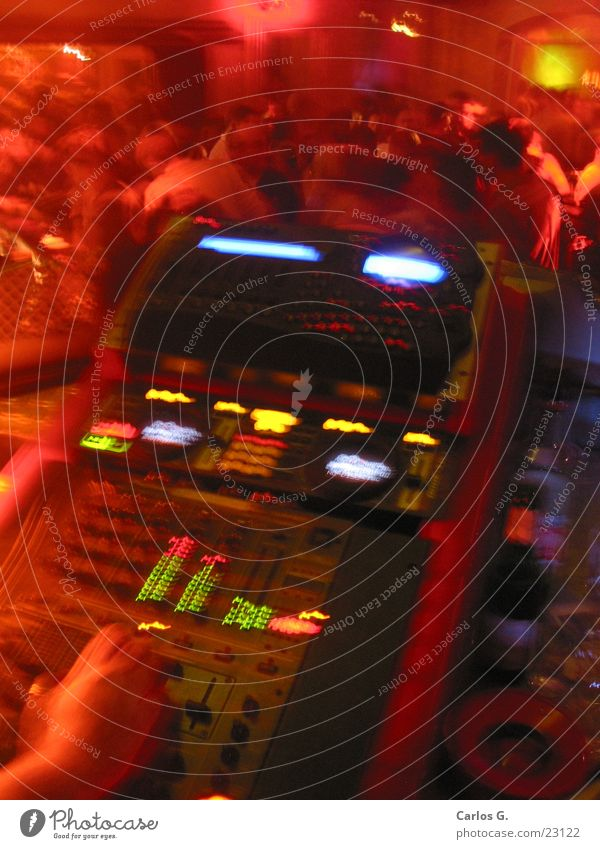 Red Party Dance Technology Disco Record Night life Hip-hop Mixing desk Music Würzburg