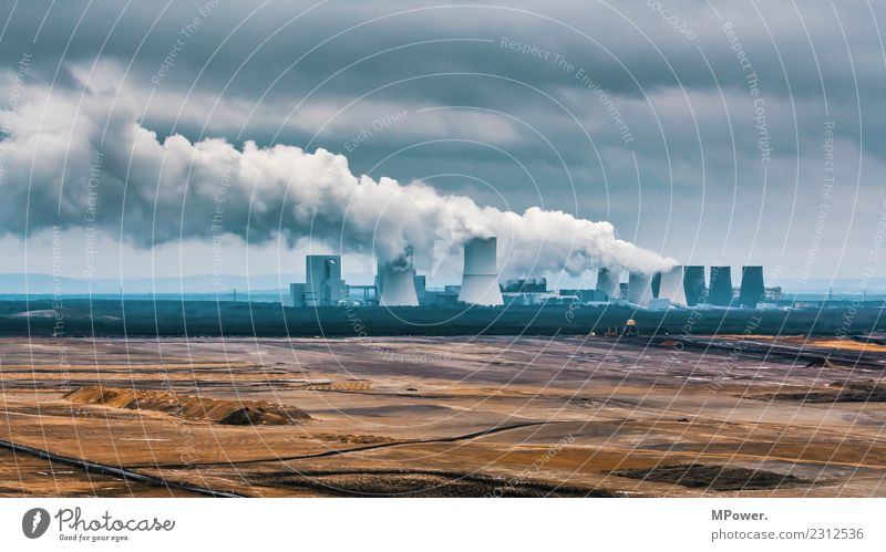 lignite-fired power station Technology Science & Research Nuclear Power Plant Coal power station Energy crisis Industry Old Hideous Energy industry