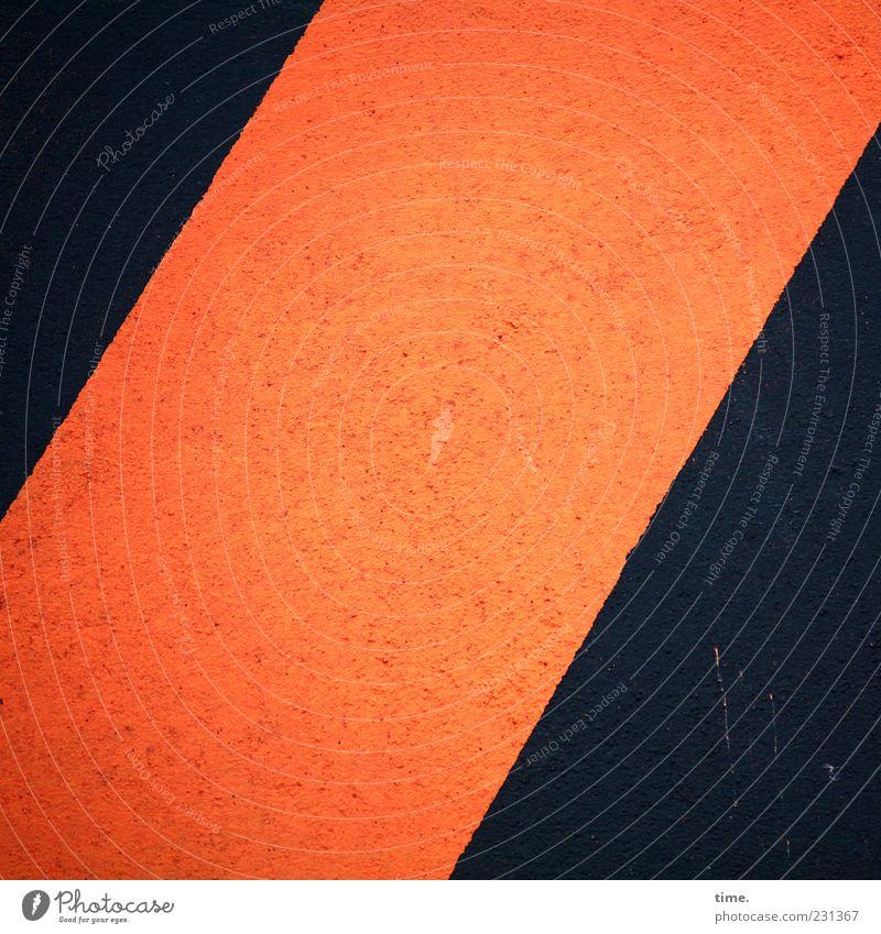 Red Black Dark Stone Line Orange Concrete Diagonal Barrier Bans Warning label Clue Sharp-edged Scratch mark Barred