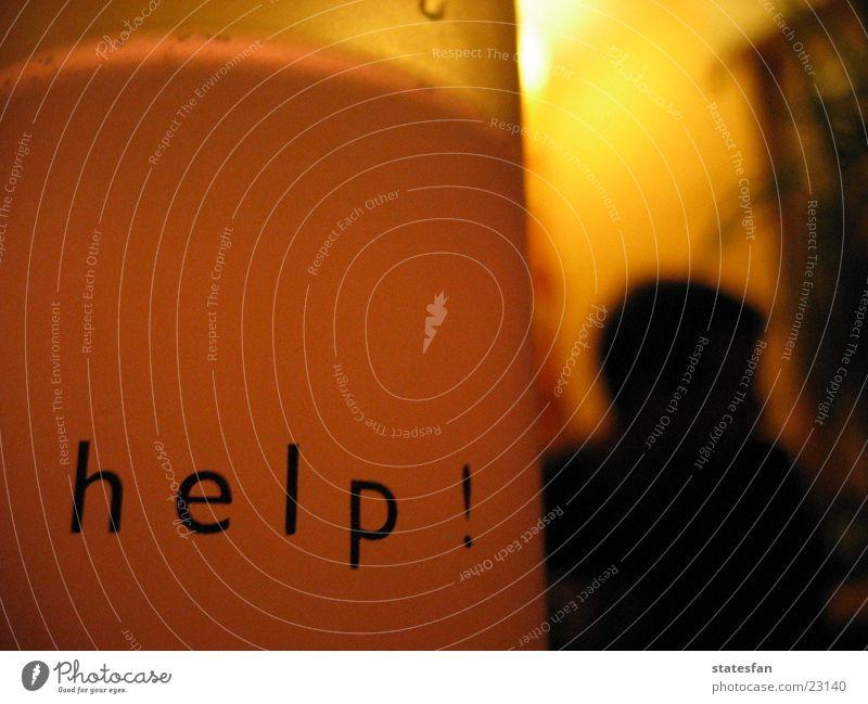 Calm Living or residing Glass Cry for help Needy Seeking help Language