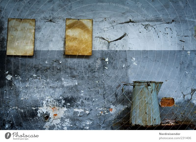 Old Colour Dark Wall (building) Gray Wall (barrier) Time Dirty Living or residing Broken Paper Factory End Past Decline Shabby
