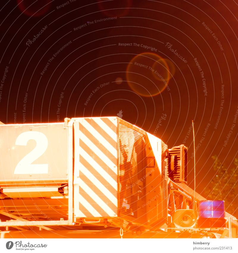 2 Orange Exceptional Typography Vehicle Accident Section of image Fire department Partially visible Means of transport Fire engine Emergency Lens flare Alarm