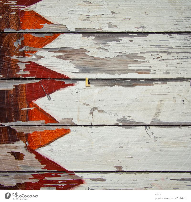 Old White Wall (building) Wood Line Orange Background picture Facade Exceptional Change Transience Flag Sign Dry Arrow Fence
