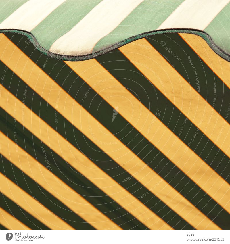 Green Yellow Line Design Stripe Illustration Graphic Weather protection Pattern Sun blind