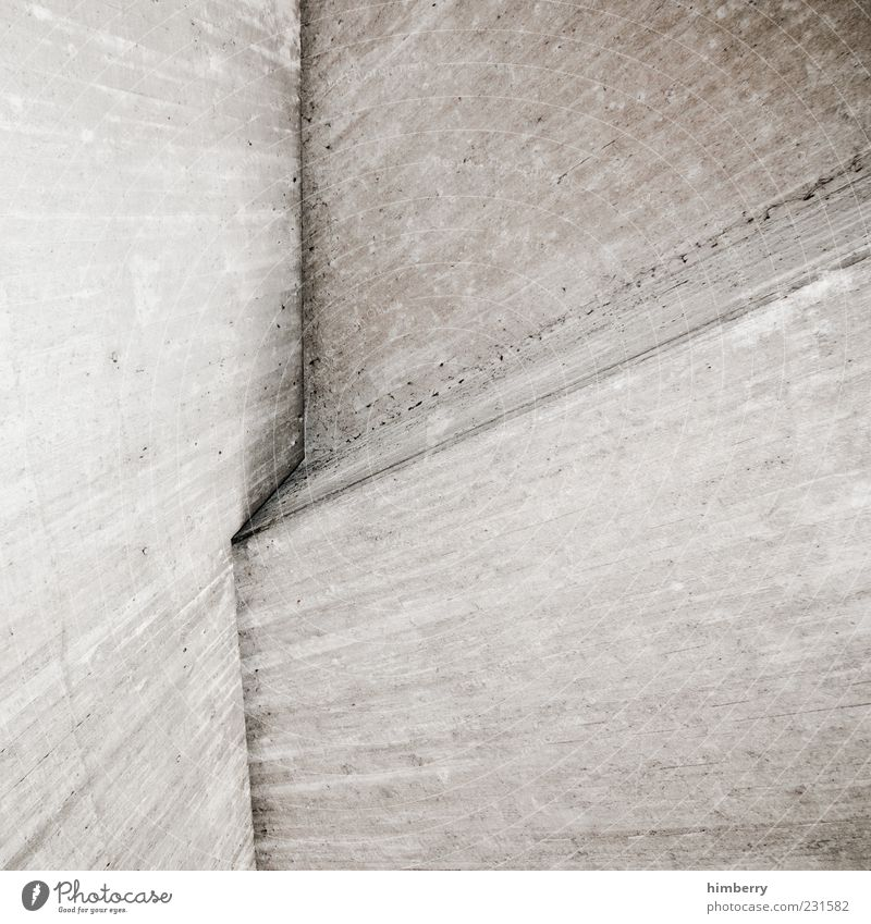 Wall (building) Architecture Building Wall (barrier) Background picture Concrete Design Planning Corner Gloomy Manmade structures Stress Construction