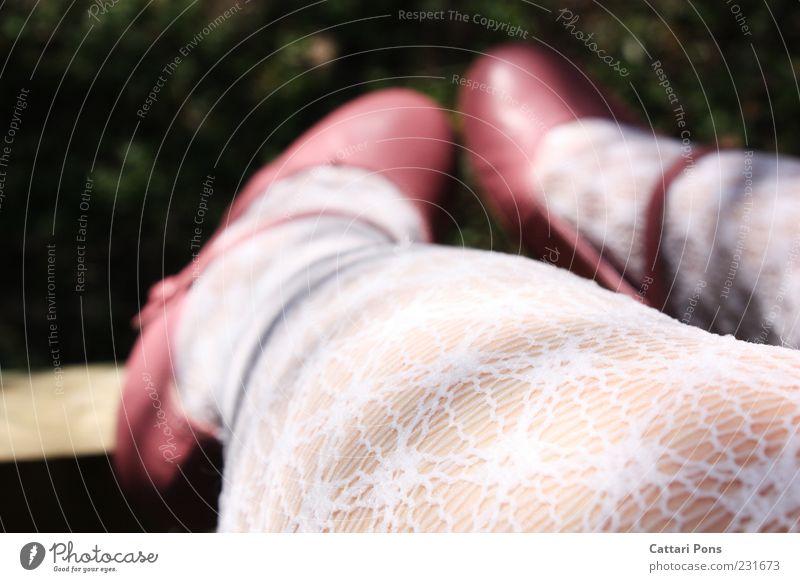 Human being Green White Beautiful Girl Feminine Legs Feet Infancy Footwear Pink Sit Clothing Kitsch Thin Hang