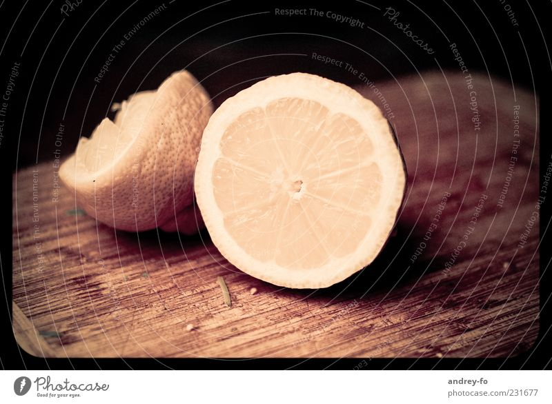 Yellow Nutrition Wood Brown Fruit Lie Fresh Part Delicious Lemon Chopping board Cut Sour Lime Plant Lemon yellow