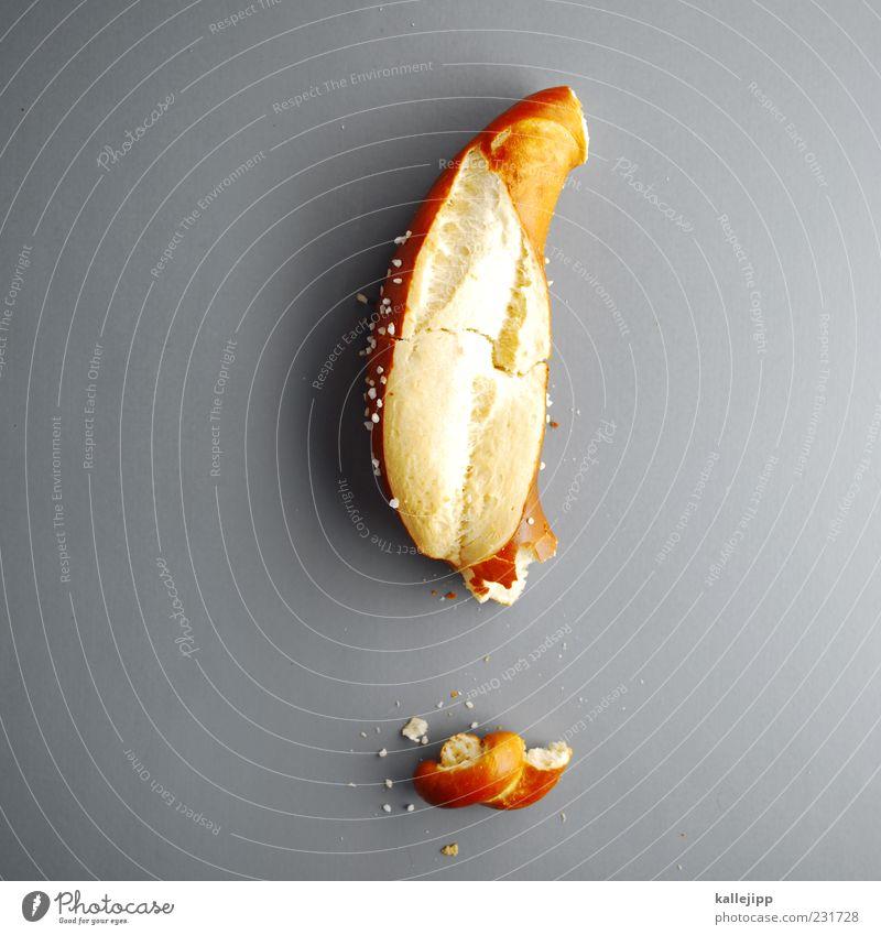 Nutrition Food Characters Sign Part Salt Crumbs Command Pretzel Important Shadow Demand Exclamation mark