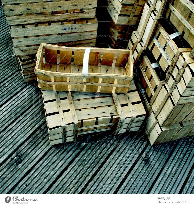 Wood Empty Many Harvest Collection Stack Basket Agriculture