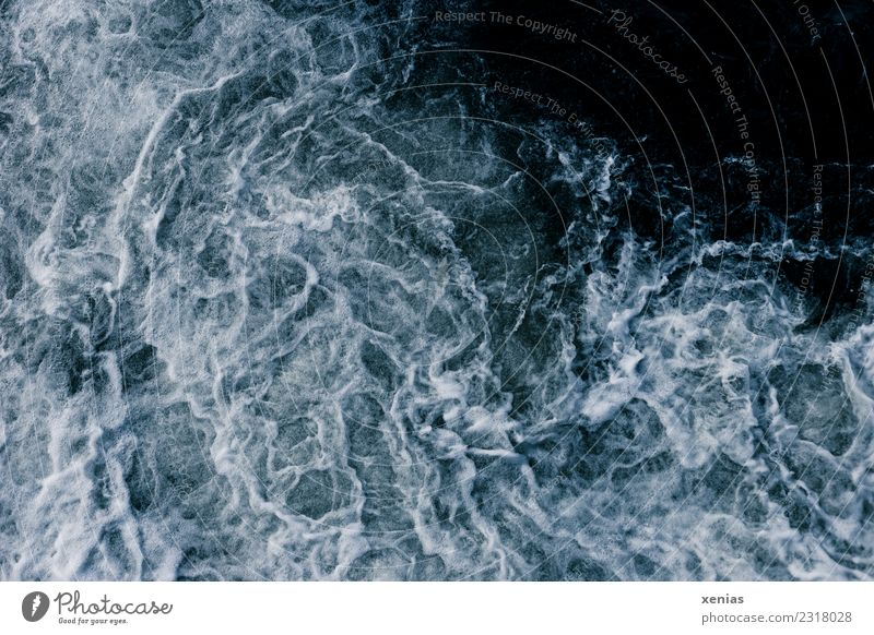 Hydropower - bubbling water Water Climate Climate change Weather Storm Wind Gale Waves Ocean Lake River Fresh chill Maritime Blue White Force Nature Wild