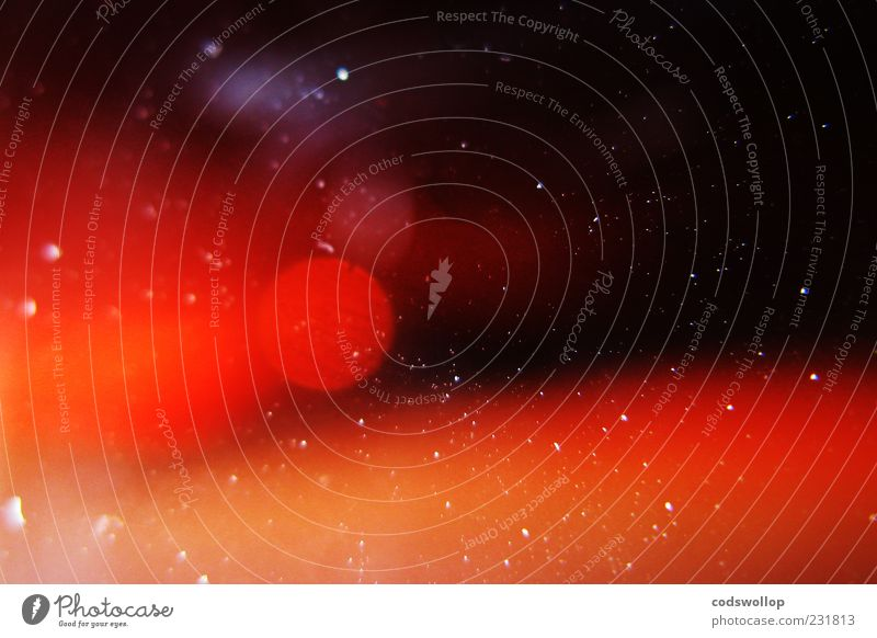 Red Black Universe Science & Research Discover Copy Space Technology Lens flare Astronautics Particle