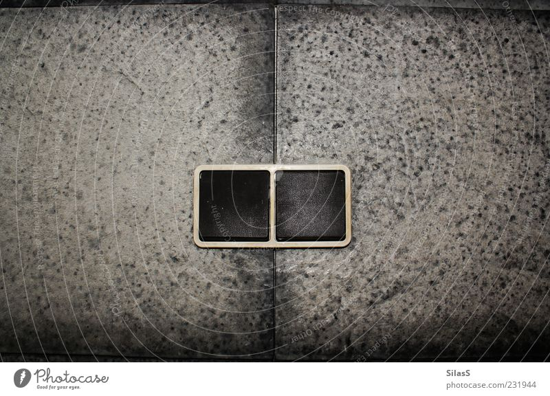 White Black Wall (building) Gray Stone In pairs Tile Technology Light switch