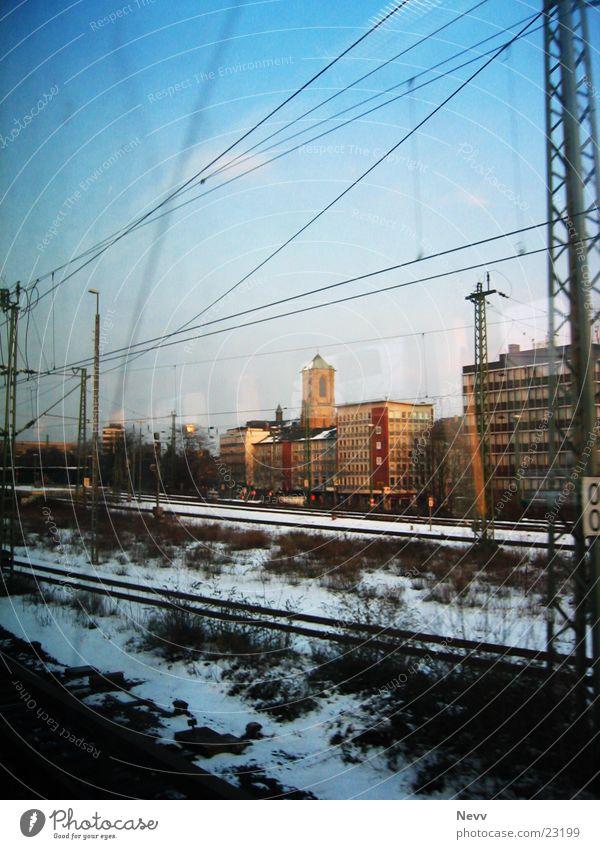 Blue Horizon Transport Railroad Speed Railroad tracks