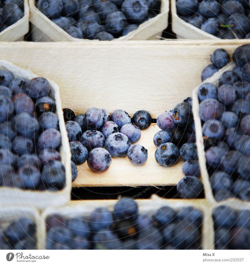Blue Nutrition Food Small Fruit Fresh Sweet Round Delicious Organic produce Berries Bowl Vegetarian diet Blueberry Fruit bowl