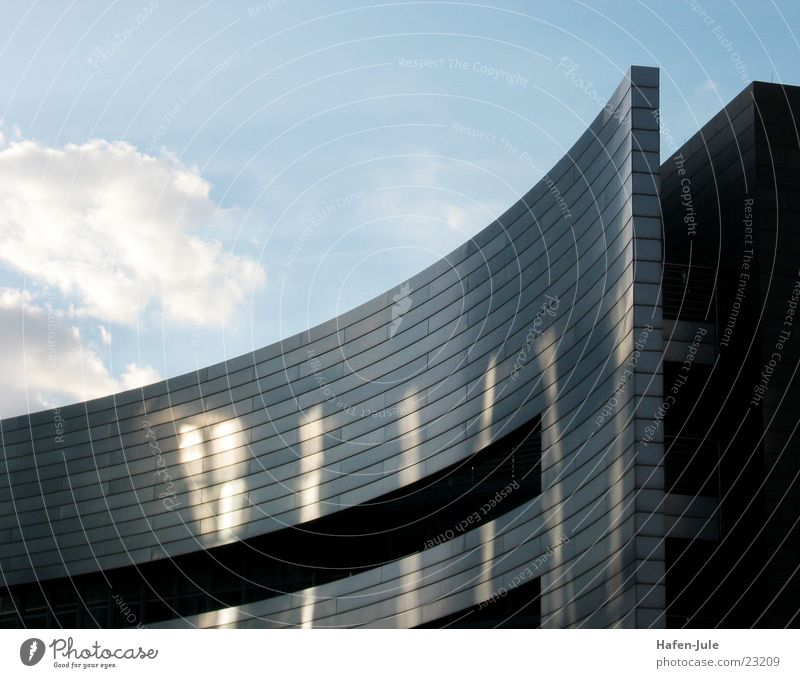 Sky House (Residential Structure) Clouds Metal Architecture Round Across