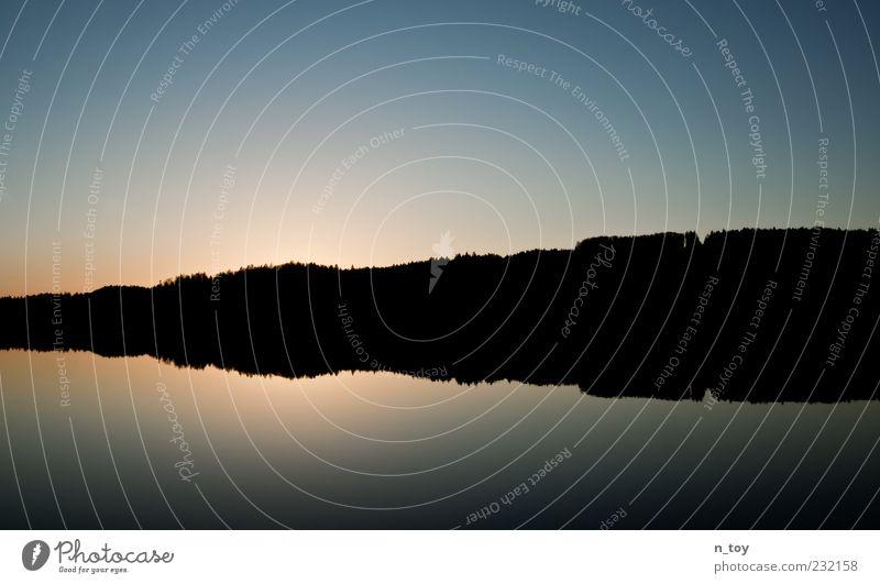Sky Nature Water Tree Loneliness Black Forest Dark Landscape Coast Lake Horizon Germany Infinity Lakeside Bavaria