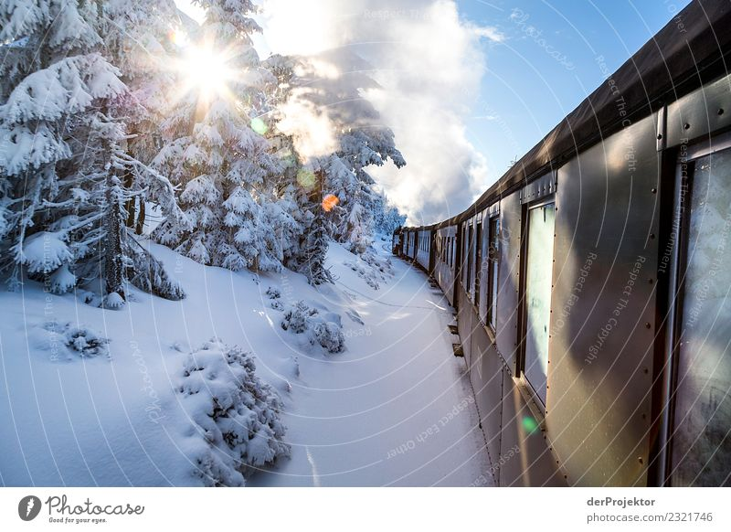 The Brocken Orient Express Vacation & Travel Tourism Trip Adventure Freedom Winter vacation Environment Nature Landscape Beautiful weather Snow Mountain