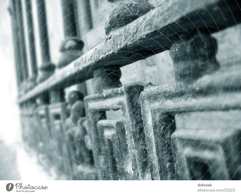 window grille Window Grating Curlicue Spain Vacation & Travel Architecture Metal cassares Detail Black & white photo