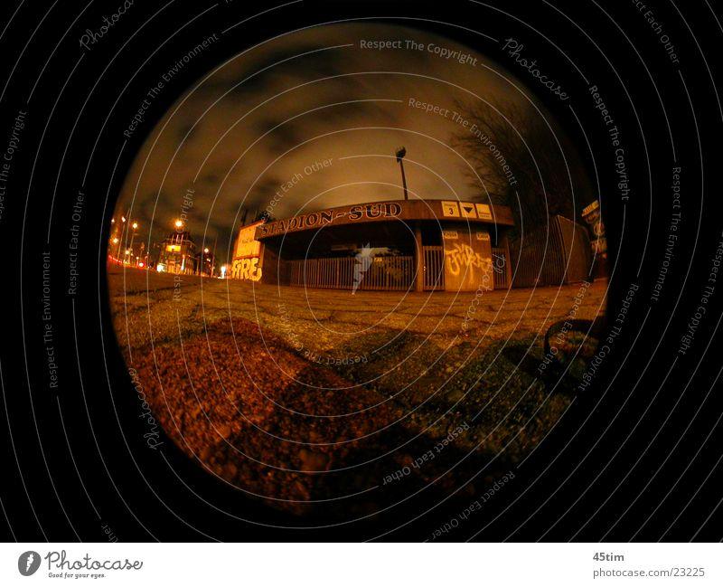 Architecture Cologne Stadium Fisheye Night shot