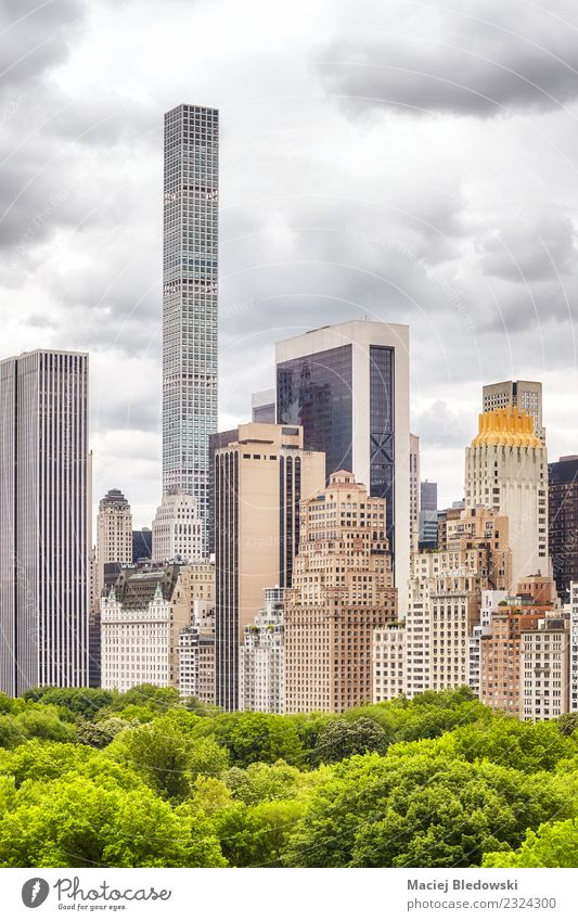 Manhattan cityscape, New York City, USA Sky Town Tree House (Residential Structure) Architecture Building Work and employment Living or residing