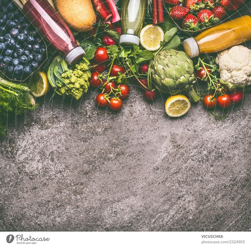 Summer Healthy Eating Yellow Background picture Style Food Design Fruit Fresh Beverage Vegetable Organic produce Bottle Diet Vegetarian diet