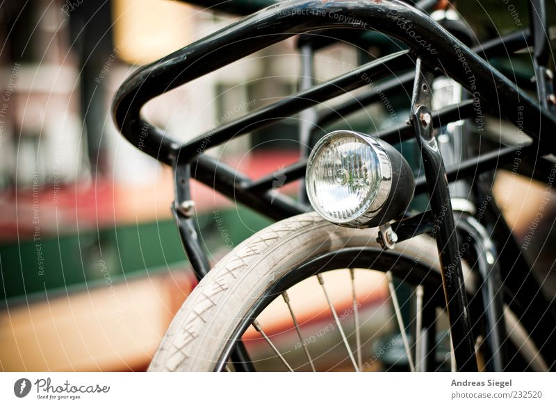 Old White Vacation & Travel Black Leisure and hobbies Bicycle Trip Transport Authentic Exceptional Retro Parking Original Means of transport Spokes