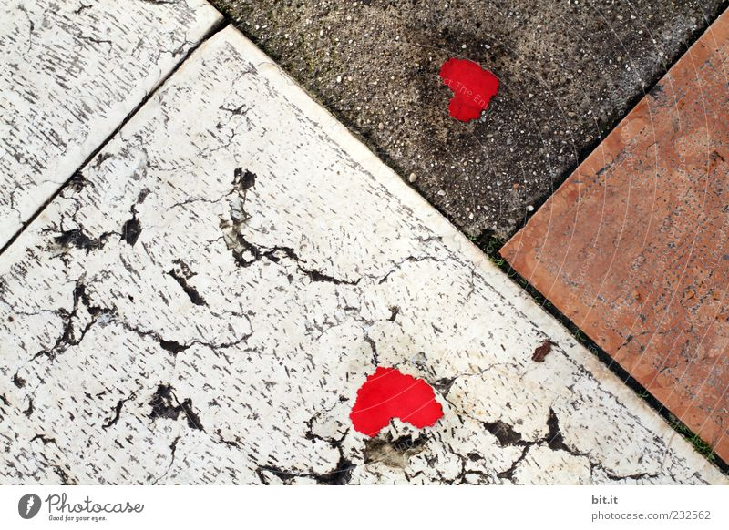 Red Life Street Lanes & trails Happy Stone Line Art Lie Signs and labeling Birthday Heart Romance Hope Easter