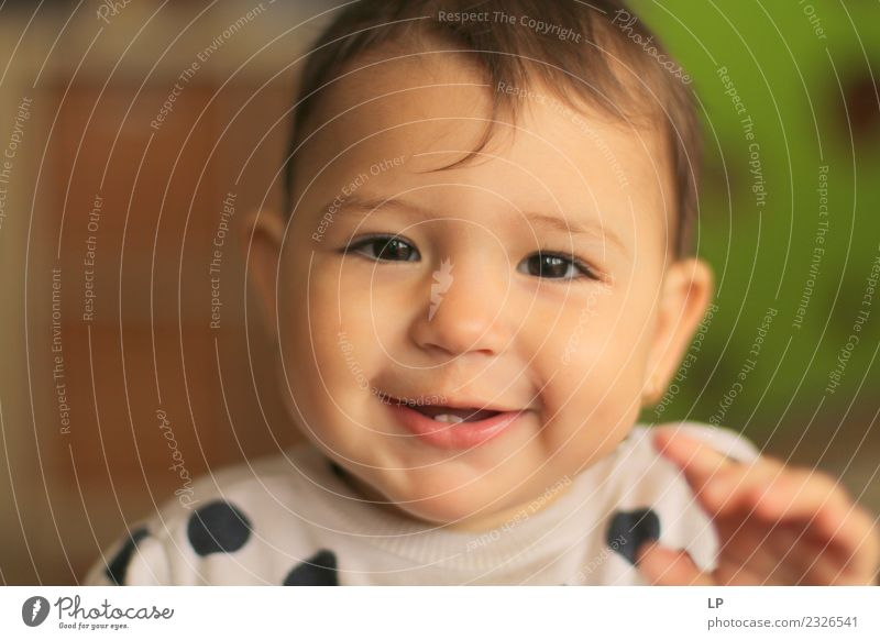 beautiful baby looking very funny into the the camera Joy Life Mother's Day Human being Child Baby Toddler Parents Adults Brothers and sisters
