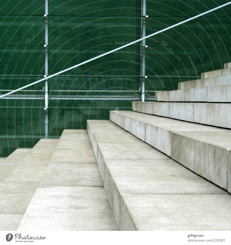 staircase Wall (barrier) Wall (building) Facade Stairs Building Part of a building Handrail Marble Stone Banister Perspective Square Glass Glas facade Pane