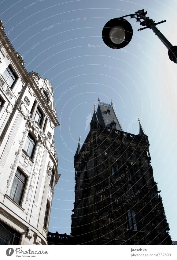 Prague Spring V Czech Republic Capital city Downtown House (Residential Structure) Tower Manmade structures Architecture Tourist Attraction Landmark Large