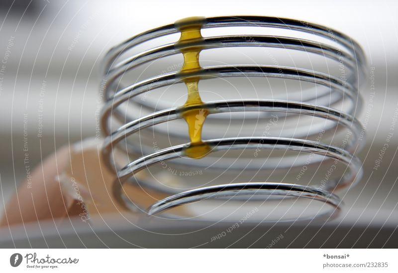 Metal Line Nutrition Walking Design Round Kitchen To enjoy Fluid Attachment Delicious Egg Spiral Full Daub Yolk