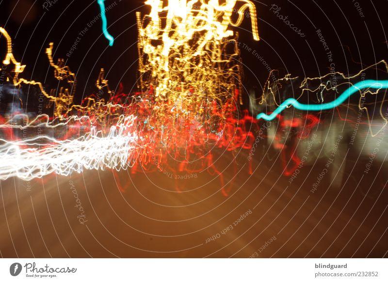 Street Dark Movement Lighting Transport Speed Illuminate Car headlights Strip of light Night