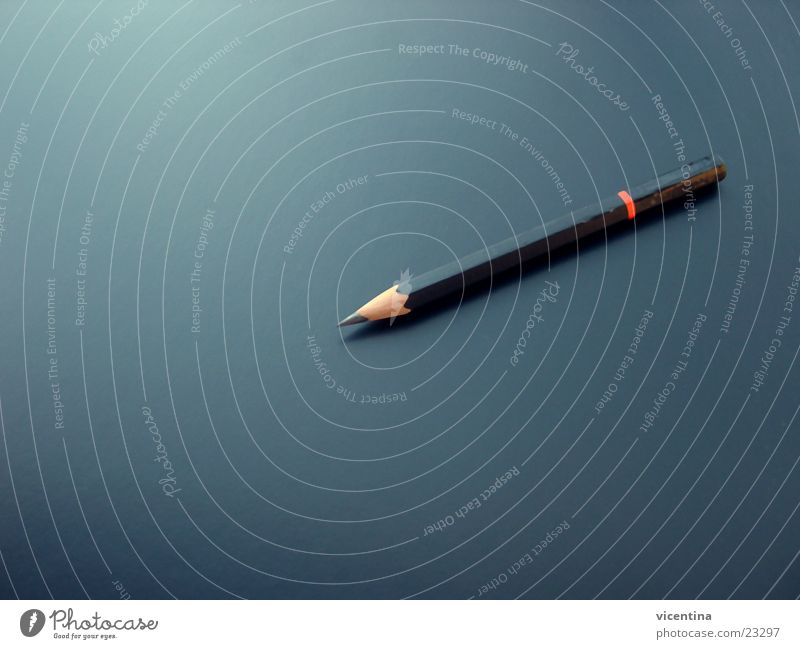 Calm Black Point Table Desk Pen Pencil