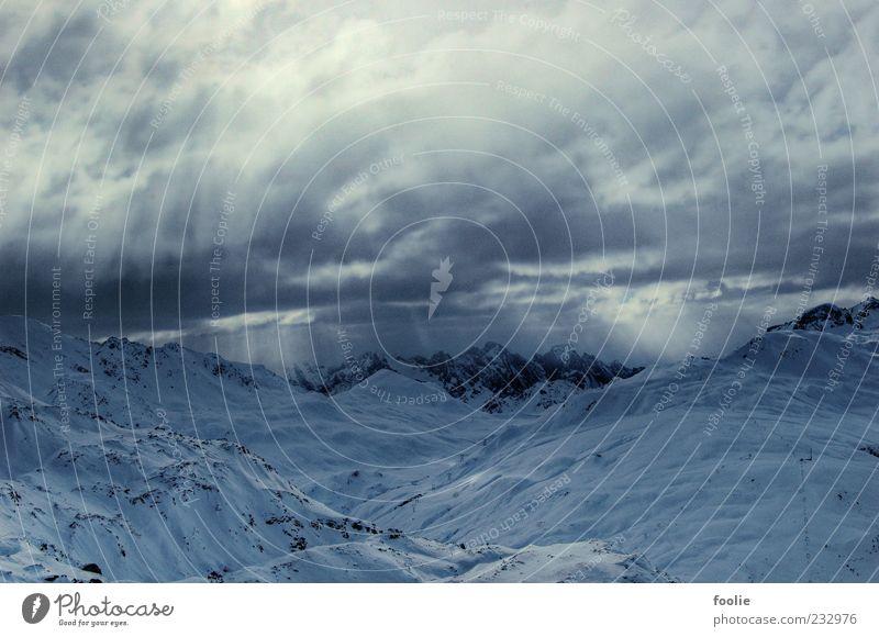 Sky Nature Winter Clouds Environment Snow Landscape Mountain Weather Rock Elements Alps Peak Glacier Bad weather Snowcapped peak