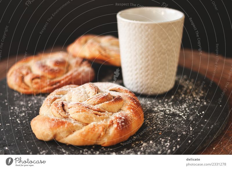 Cinnamon snail III Food Grain Dough Baked goods Croissant Cake Candy Nutrition Eating Breakfast Lunch To have a coffee Buffet Brunch Organic produce