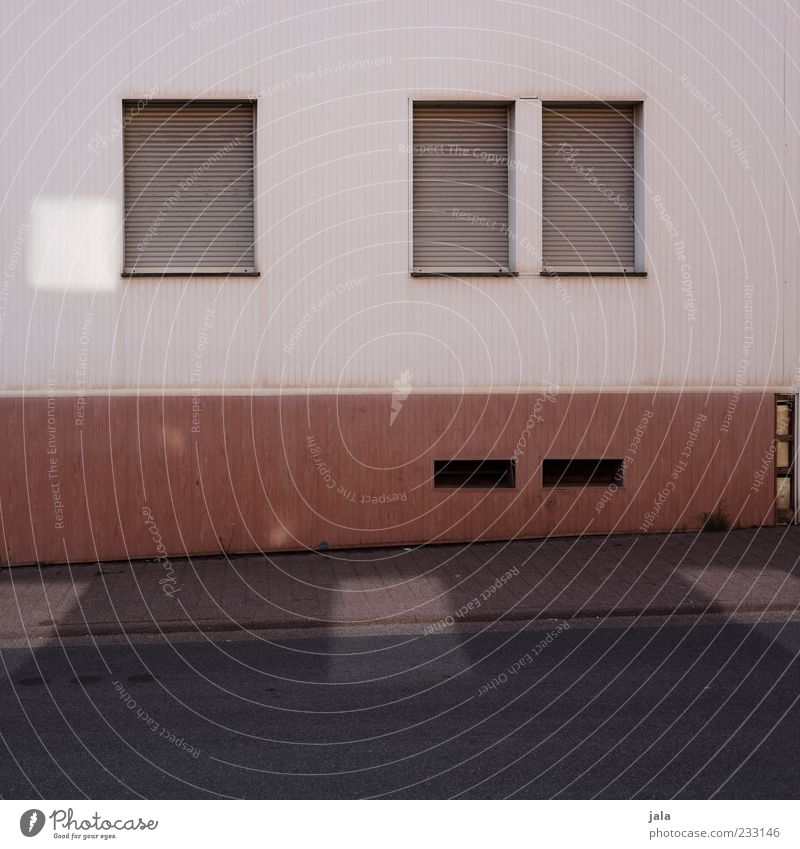 House (Residential Structure) Street Window Wall (building) Architecture Lanes & trails Wall (barrier) Building Facade Closed Gloomy Manmade structures Sidewalk