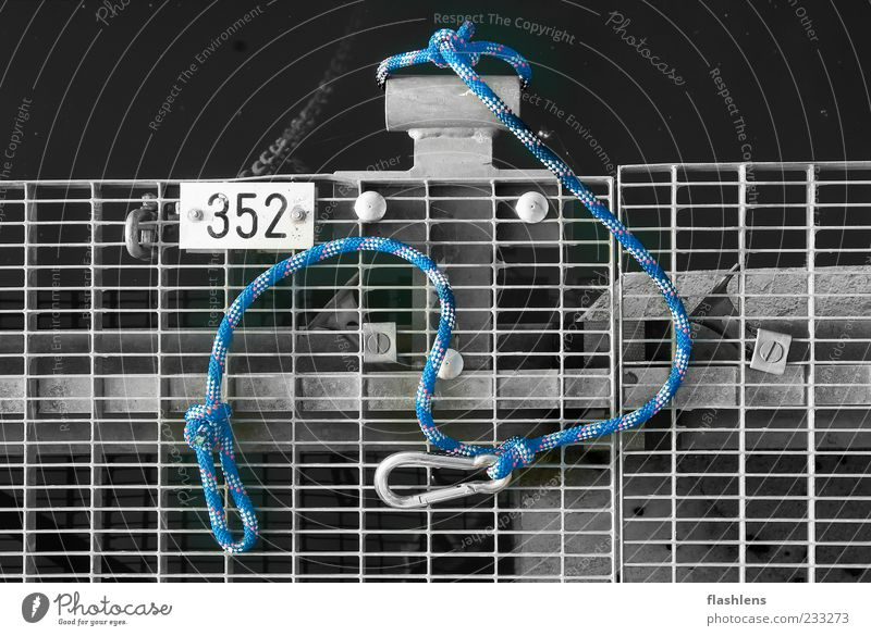 Signs and labeling Rope Digits and numbers Jetty Grating Aquatics Switzerland Eyelet Thun