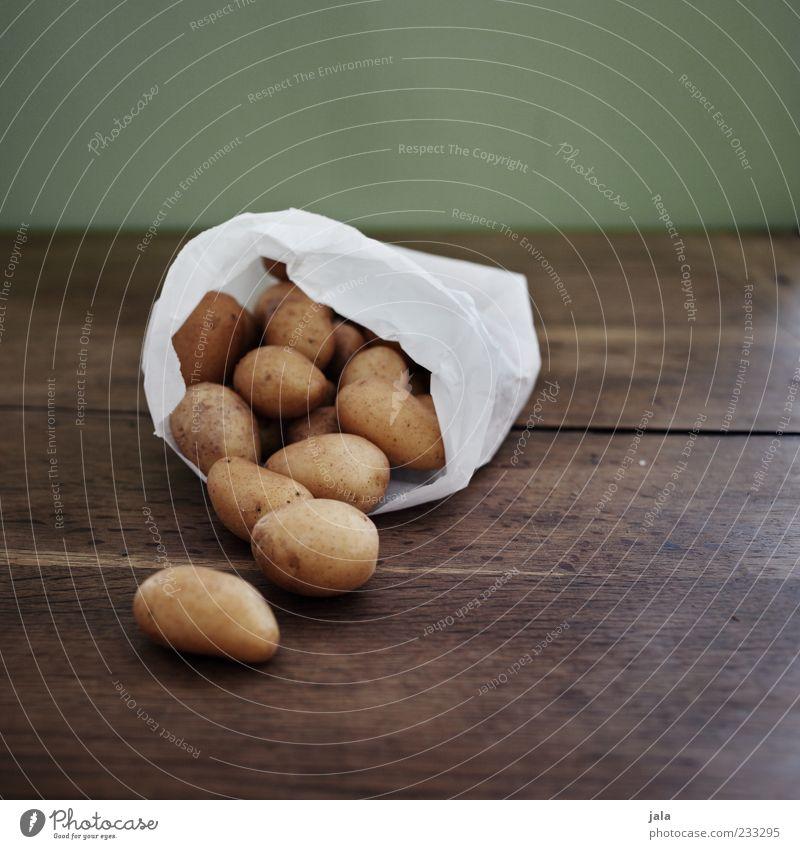 White Nutrition Food Brown Lie Multiple Good Vegetable Organic produce Paper bag Vegetarian diet Potatoes Wooden table