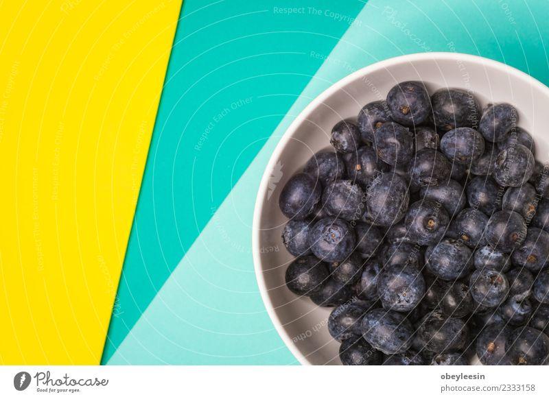 blueberries fruit in bowl, Colorful back ground, Fruit Dessert Nutrition Eating Vegetarian diet Diet Juice Bowl Summer Garden Kitchen Group Nature Leaf