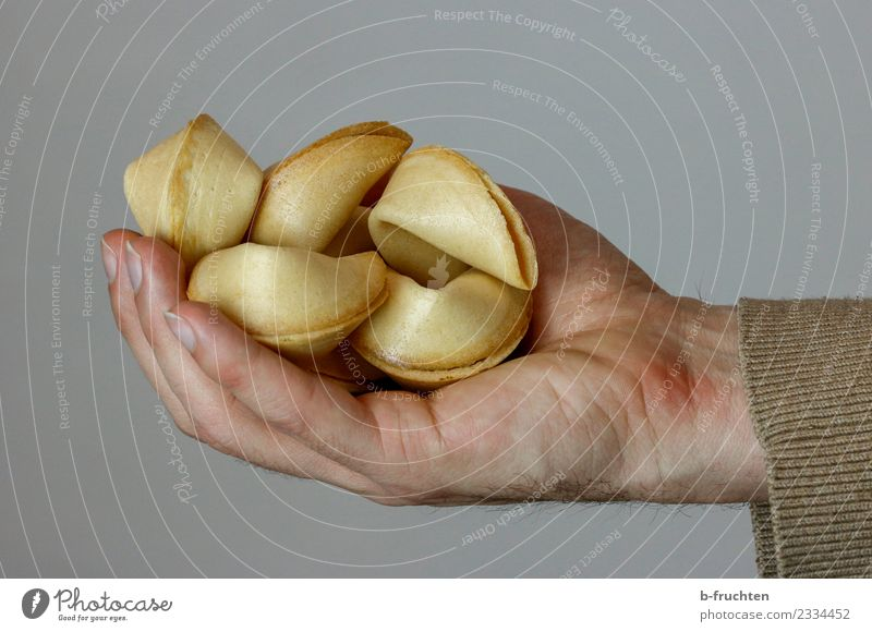 Man Hand Religion and faith Happy To enjoy Fingers To hold on Belief Candy Fortune cookie