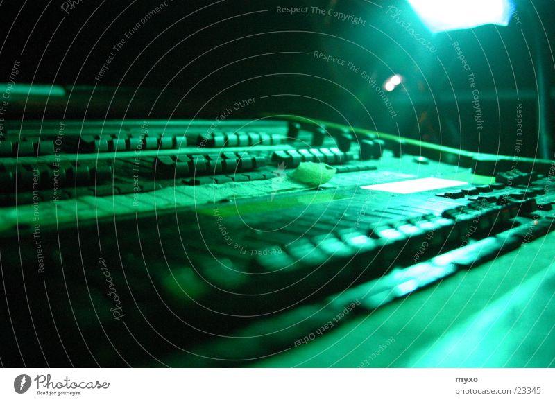 lighting desk Mixing desk Green Lighting Controller Electrical equipment Technology Blur