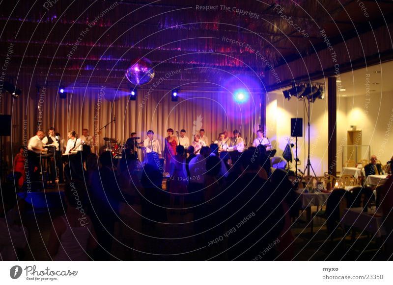 big band Light Stage Club Party Music Dance Musician Party goer