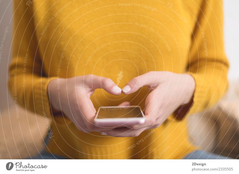 Closeup of woman's hands using a smartphone Woman Human being Youth (Young adults) Man Young woman Hand Girl Adults Lifestyle Feminine Business 13 - 18 years