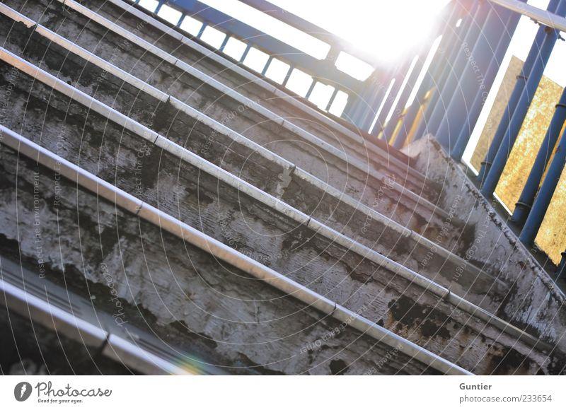 Blue White Yellow Gray Stairs Handrail Dazzle