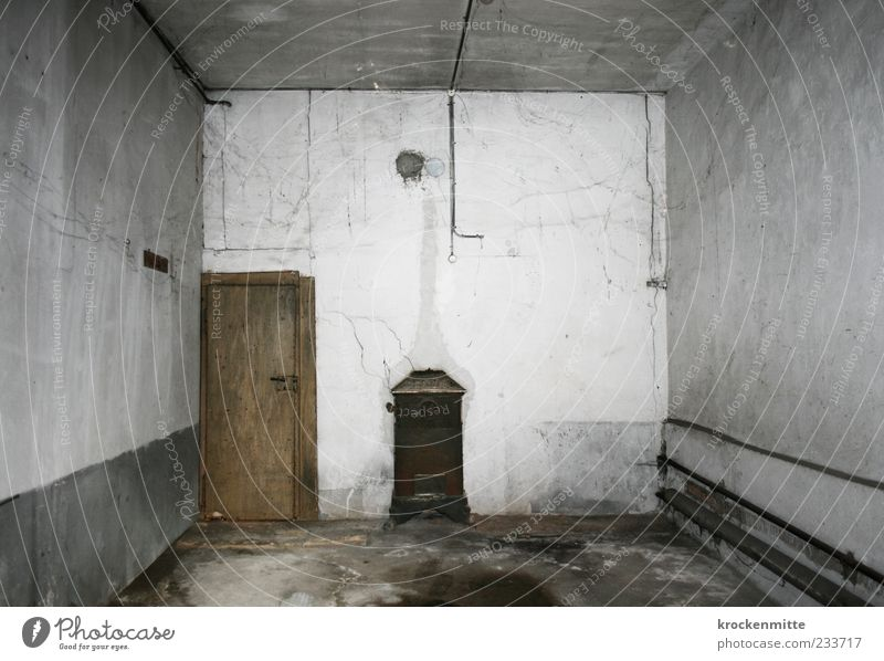 White Dark Wall (building) Gray Wall (barrier) Door Room Going Dirty Empty Ground Gloomy Derelict Past Decline Crack & Rip & Tear