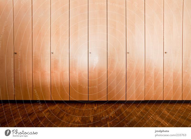 Wood Brown Interior design Tall Large Modern Esthetic Furniture Sharp-edged Cupboard Built-in closet Wardrobe door
