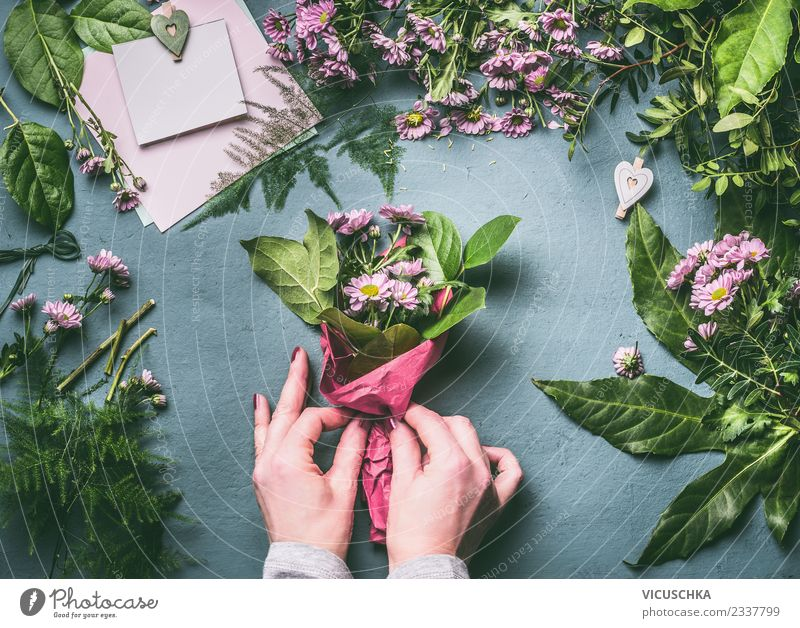 Woman Human being Plant Hand Flower Adults Feminine Style Feasts & Celebrations Pink Design Leisure and hobbies Decoration Elegant Table Heart