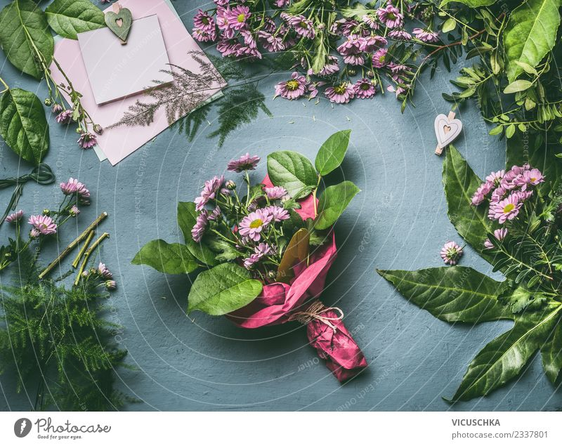 Plant Summer Flower Leaf Style Feasts & Celebrations Pink Design Decoration Table Shopping Card Bouquet Event Still Life Floristry