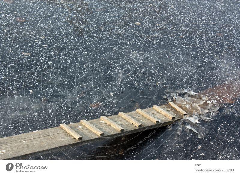 Water Blue Winter Cold Lake Ice Dirty Small Wet Frost Broken Fluid Frozen Footbridge Pond Sharp-edged