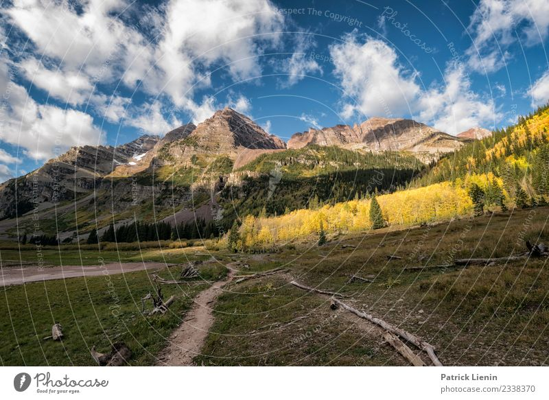 Maroon-Snowmass Wilderness in Colorado Vacation & Travel Tourism Trip Adventure Far-off places Freedom Expedition Camping Hiking Environment Nature Landscape
